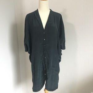 BCBGmaxazria silk tunic dress